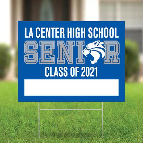 Graduation 24x18 Yard Sign - LCHS21