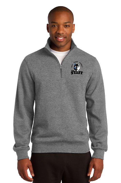 Adult 1/4 Zip Sweatshirt ST253-STAFF