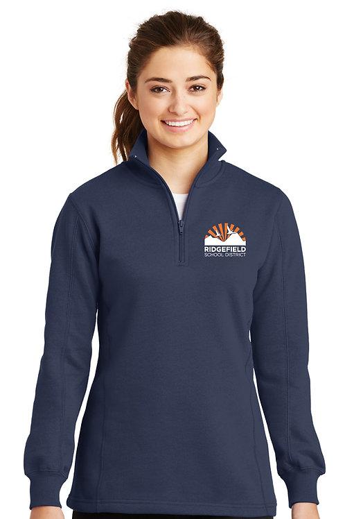 Ladies 1/4-Zip Sweatshirt LST253-RSD