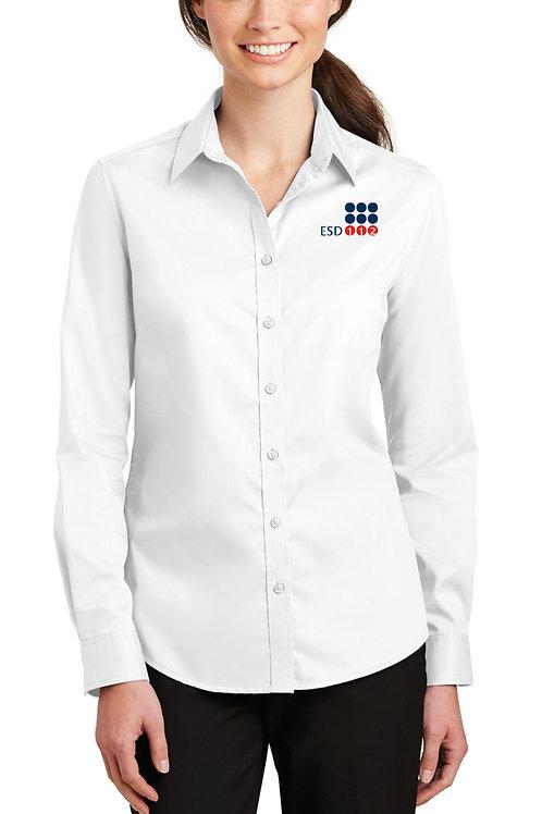 Women's SuperPro™ Twill Shirt L663-ESD