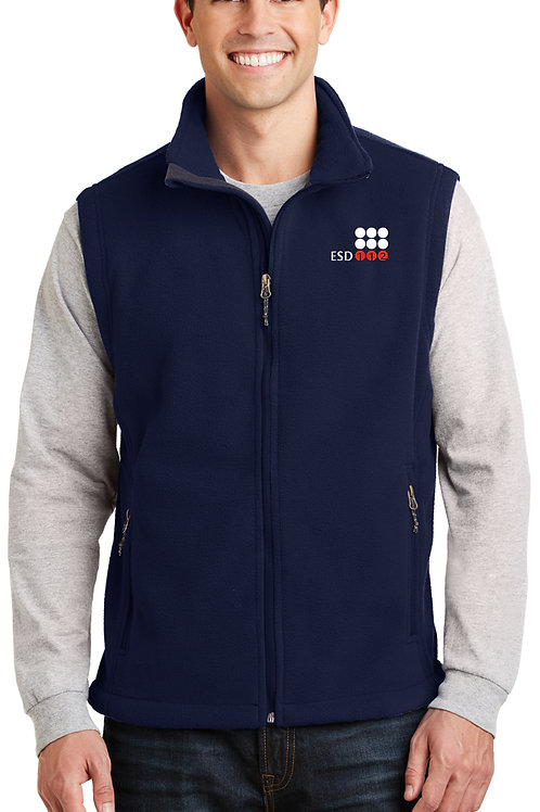 Men's Full-Zip Fleece Vest F219-ESD
