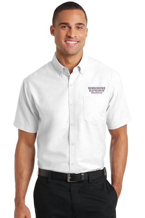 Men's Oxford Short Sleeve S659