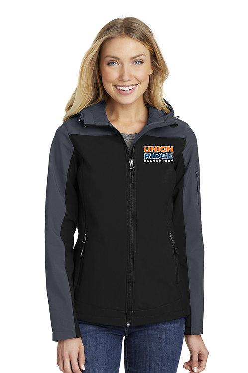 Women's Hooded Core Soft Shell Jacket L335-URS