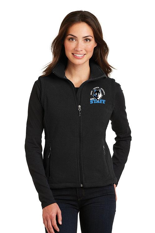 Ladies Full-Zip Fleece Vest L219-STAFF