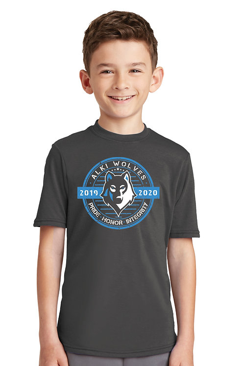Youth Super Soft Stamp Performance Tee