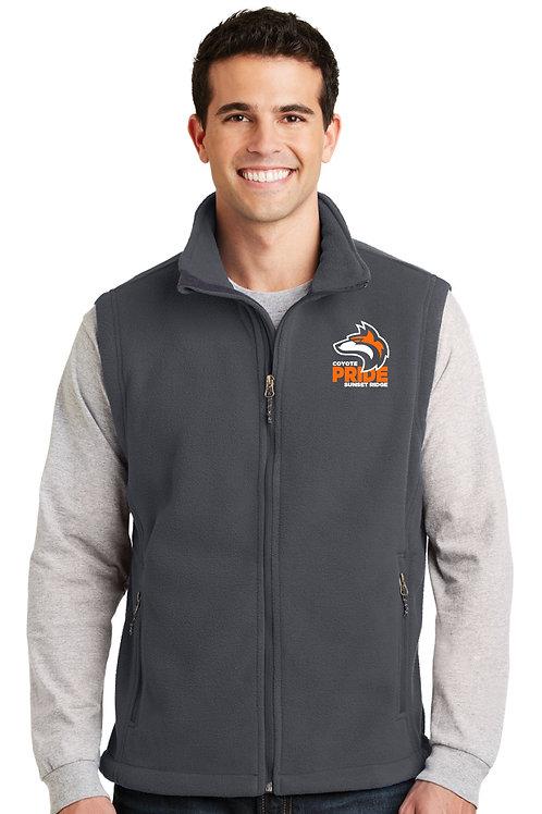 Adult Full-Zip Fleece Vest F219-COYS