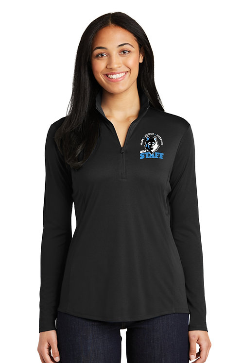 Ladies 1/4-Zip Performance Pullover LST357-STAFF