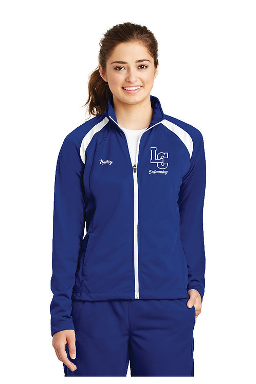 Ladies Tricot Track Jacket LST90-LC