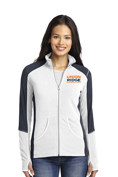 Women's Colorblock Microfleece Jacket L230-URS