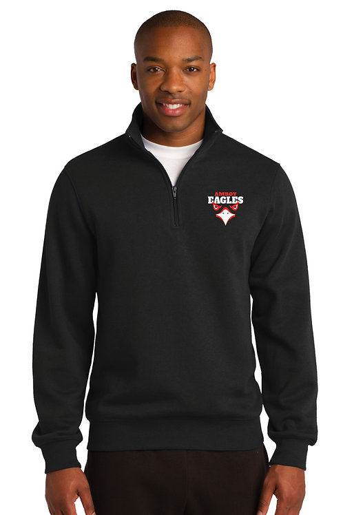Mens 1/4 Zip Pullover EAGLE EYE DESIGN