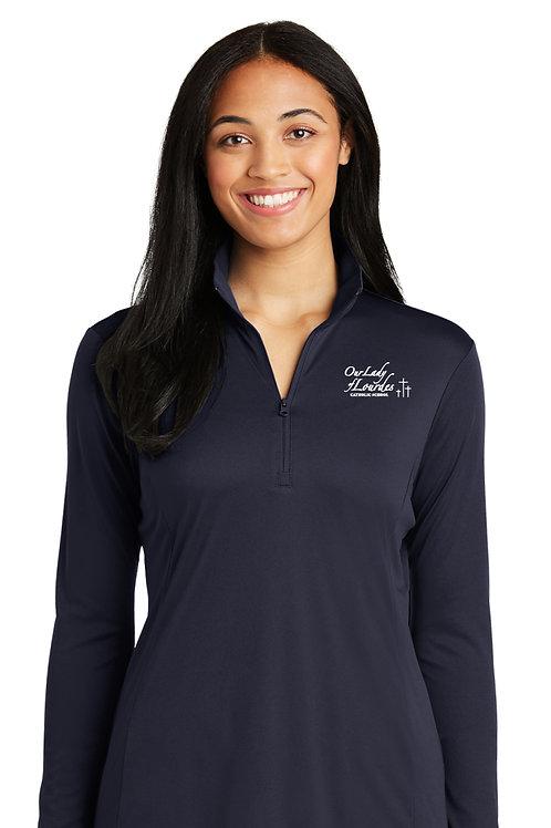 Ladies 1/4-Zip Pullover