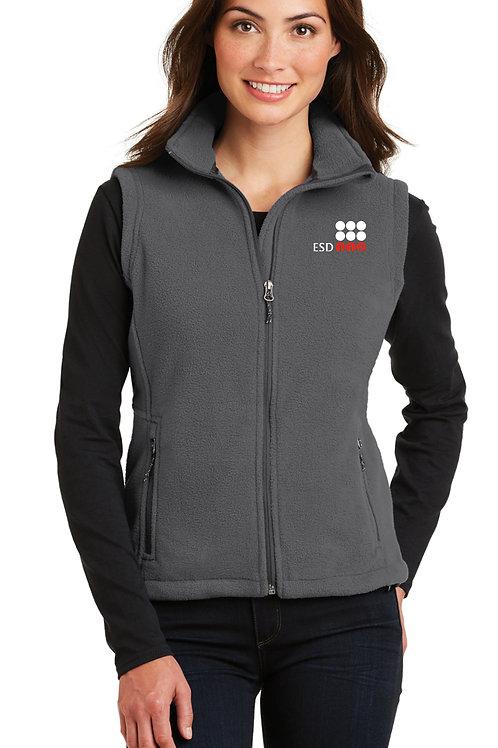 Women's Full-Zip Fleece Vest L219-ESD