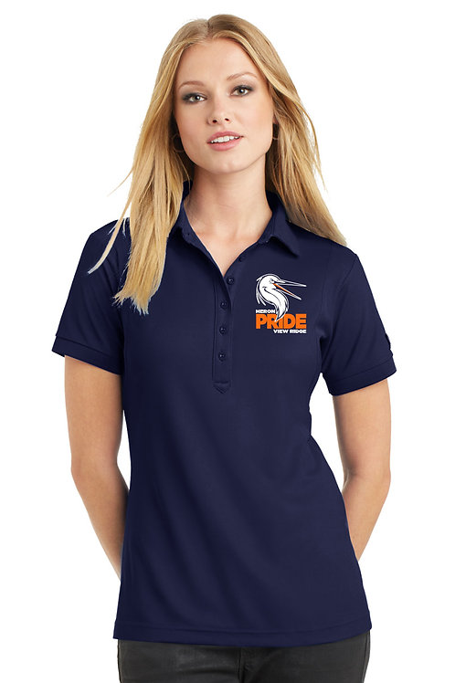 Ladies Performance Polo Shirt LOG101-VRS