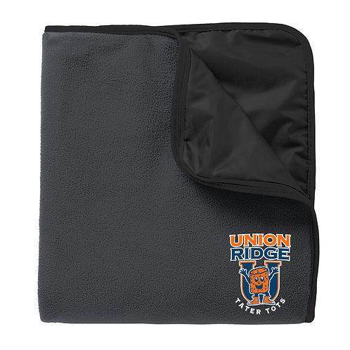 Fleece Poly Travel Blanket Embroidered Logo TB850-UR