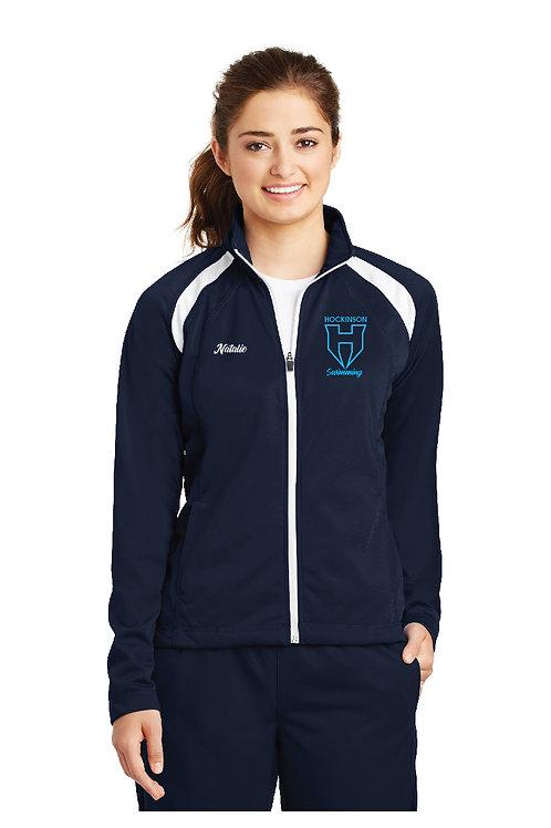 Ladies Tricot Track Jacket LST90-HOCK