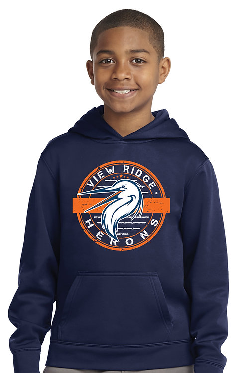 Youth Performance Stamp Hoodie YST244-VRST