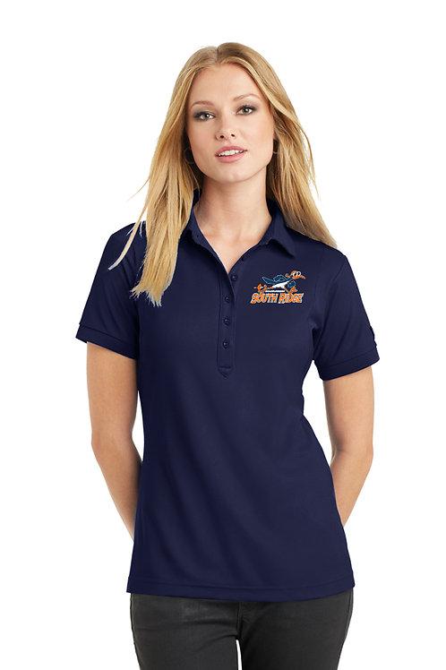 Women's Performance Polo Shirt LOG101-SRRS
