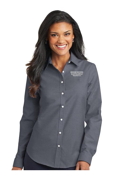 Women's Oxford Dress Shirt L658