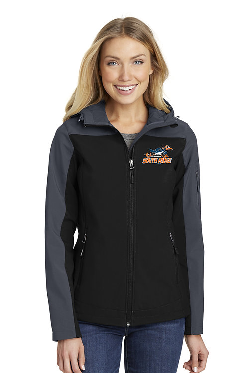 Women's Hooded Core Soft Shell Jacket L335-SRRS