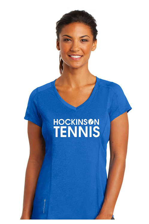 Ladies Perf. V-Neck ELO320-HOCK