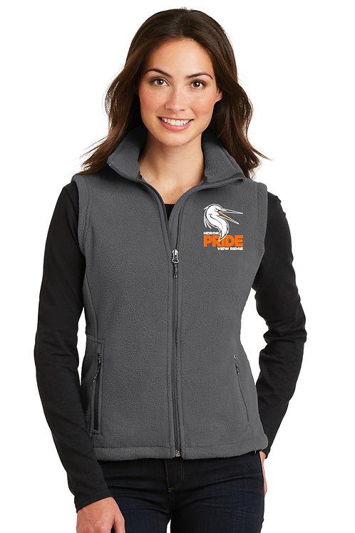 Ladies Full-Zip Fleece Vest L219-VRS