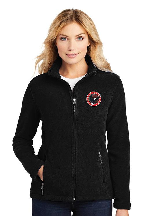 Ladies Zip Jacket CIRCLE DESIGN