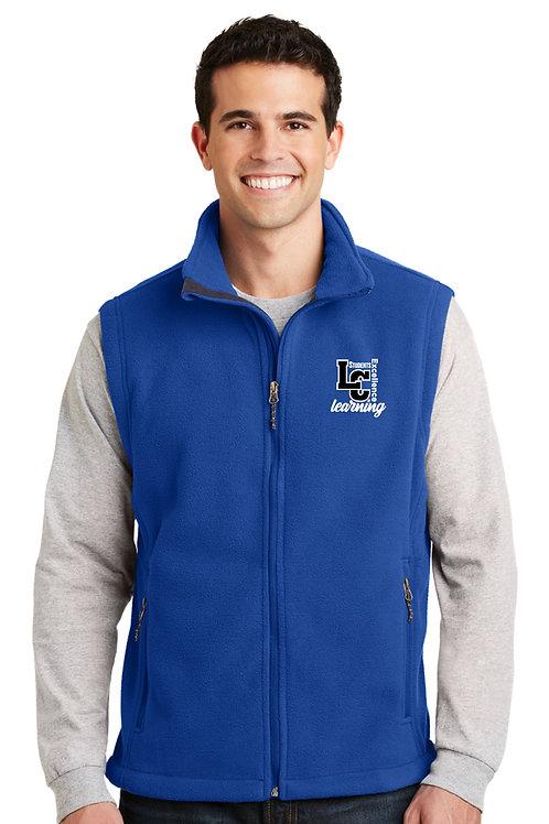 Men's Full-Zip Fleece Vest F219-LCSTAFF