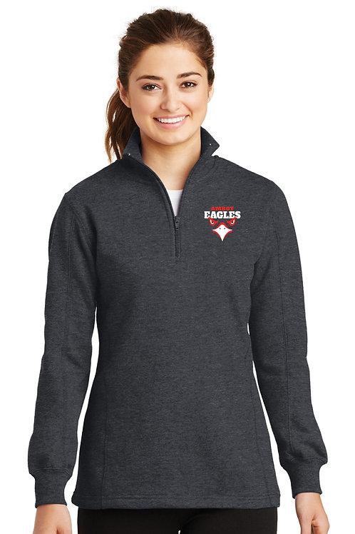 Ladies 1/4 Zip Pullover EAGLE EYE DESIGN