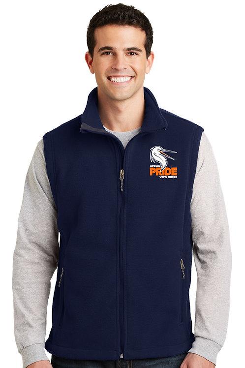 Adult Full-Zip Fleece Vest F219-VRS