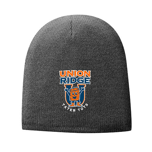 Fleece-Lined Beanie Embroidered Logo CP91L-UR