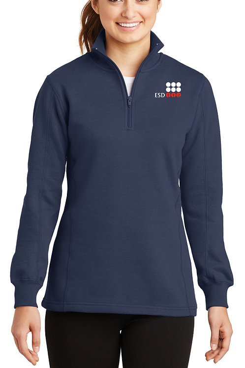 Women's 1/4-Zip Sweatshirt LST253-ESD