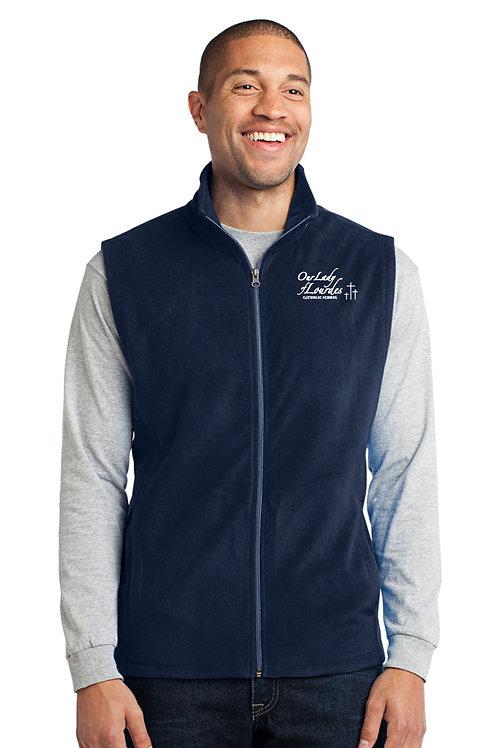 Adult Full-Zip Microfleece Vest