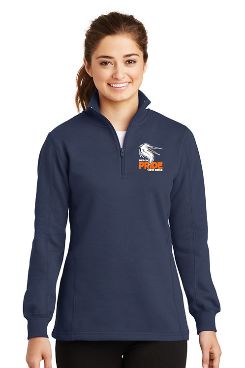 Ladies 1/4-Zip Sweatshirt LST253-VRS