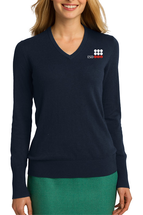 Women's V-Neck Sweater LSW285-ESD