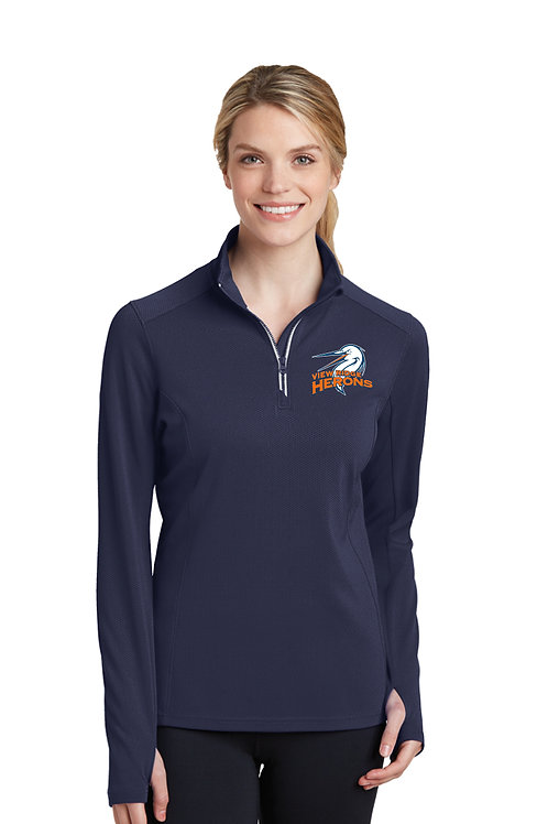 Ladies 1/4-Zip Performance Pullover LST860-VRS