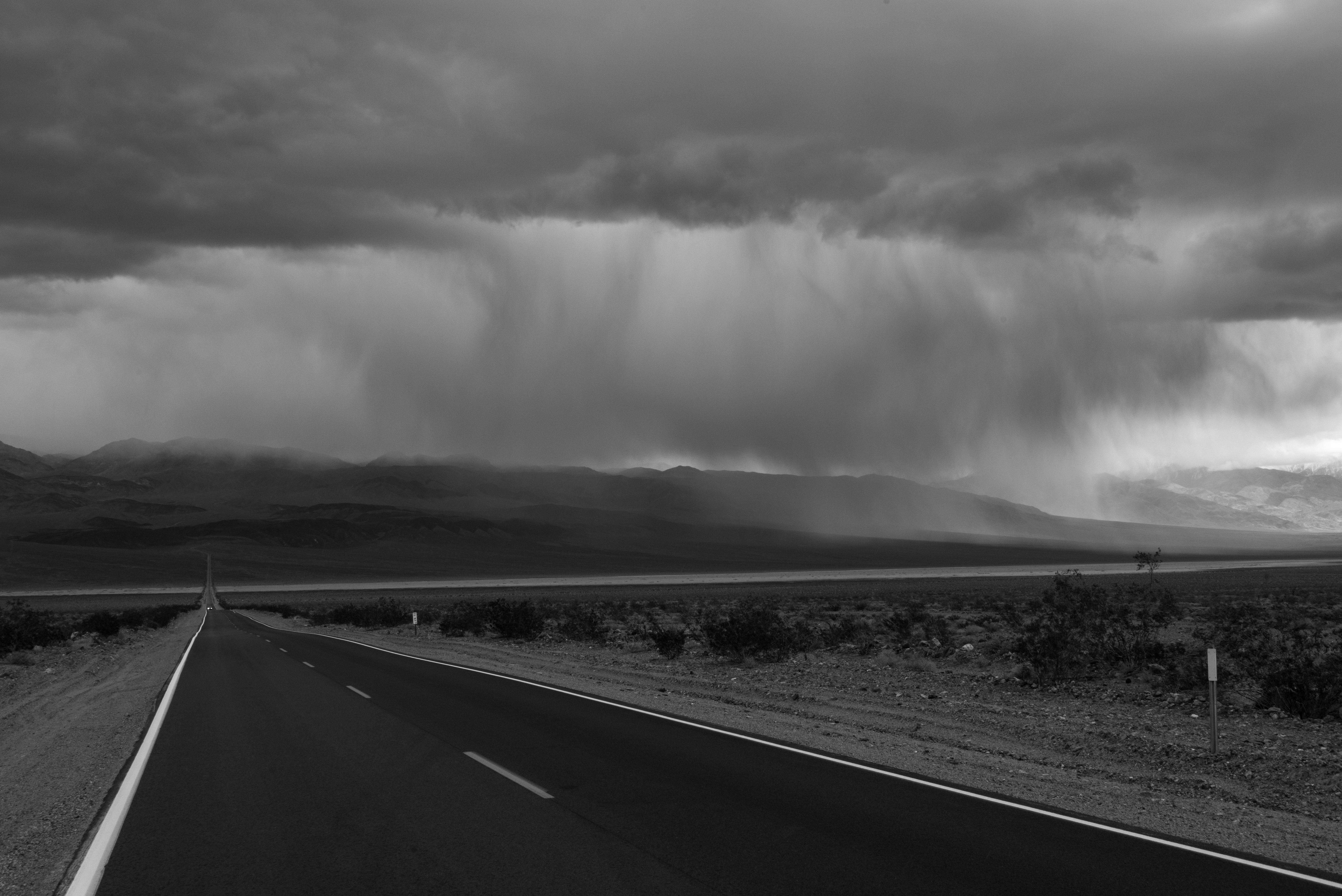Storm over Panamint