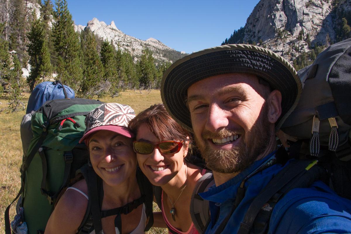 At the top of Yosemite