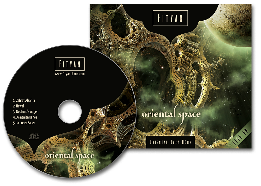 "Great to share with you our first live EP ""Oriental Space"" Available now on iTunes , Google Play Music, Spotify and Amazone, Deezer, CD Baby, Anghamy and more. Get it now"