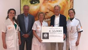 Grote donatie Lions aan Prinses Máxima Centrum
