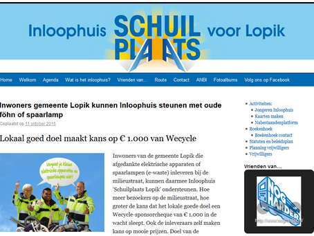 Testimonial: Inloopplaats Schuilpaats Lopik