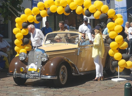 1e Lions Classic Car Event groot succes