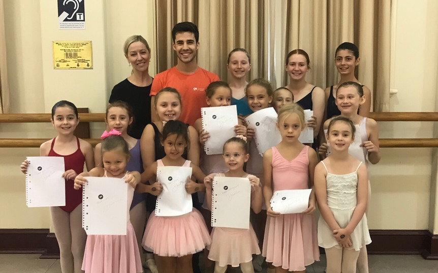 A visit from the Queensland Ballet!