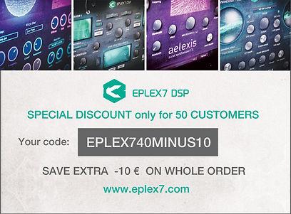 Eplex7 Save 40 minus 10 Twisted Kala for