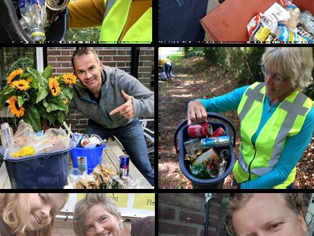 Plastic Bucket Challenge Utrechtse Heuvelrug