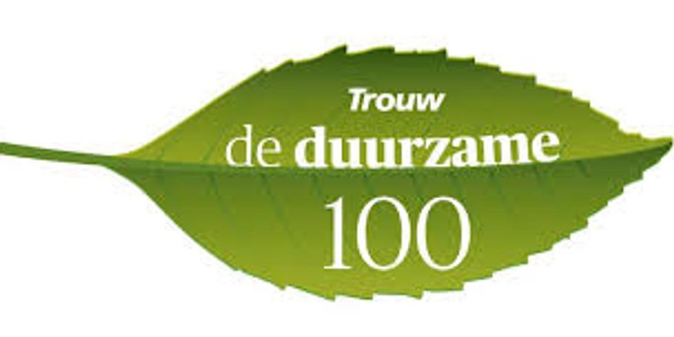 Festival Trouw Duurzame 100 'van onderop'