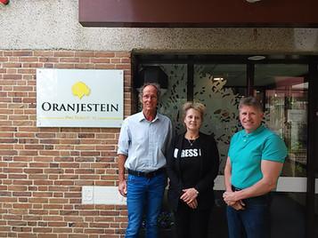 Gesprek met de milieu commissie van Oranjestein