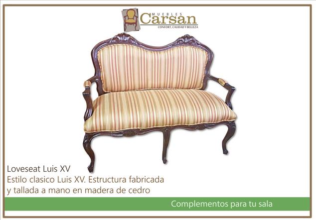 Loveseat Luis XV