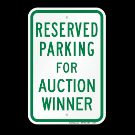 Reserved Parking at the Shrine