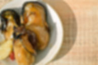 牡蠣、カプレーゼ