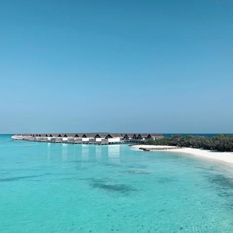 Babymoon in the Maldives